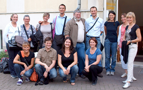 project team in Dresden 2012